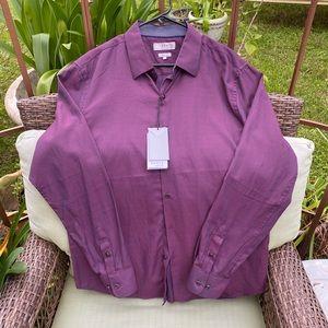 TRULY by Craft Flow Men's Jacquard Dress Shirt
